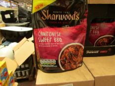 8 x 230g Sharwoods Chinese Cantonese Sweet BBQ Sauce Packs. BB 8/20