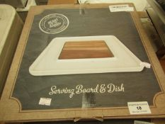 Heart of the Home Serving Board & Dish. Boxed but unchecked
