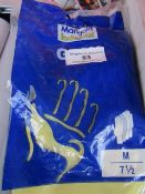 2x Marigold - G12Y - Gloves - Packaged. 1x Anti-Static White Gloves - Size XL - Packaged.