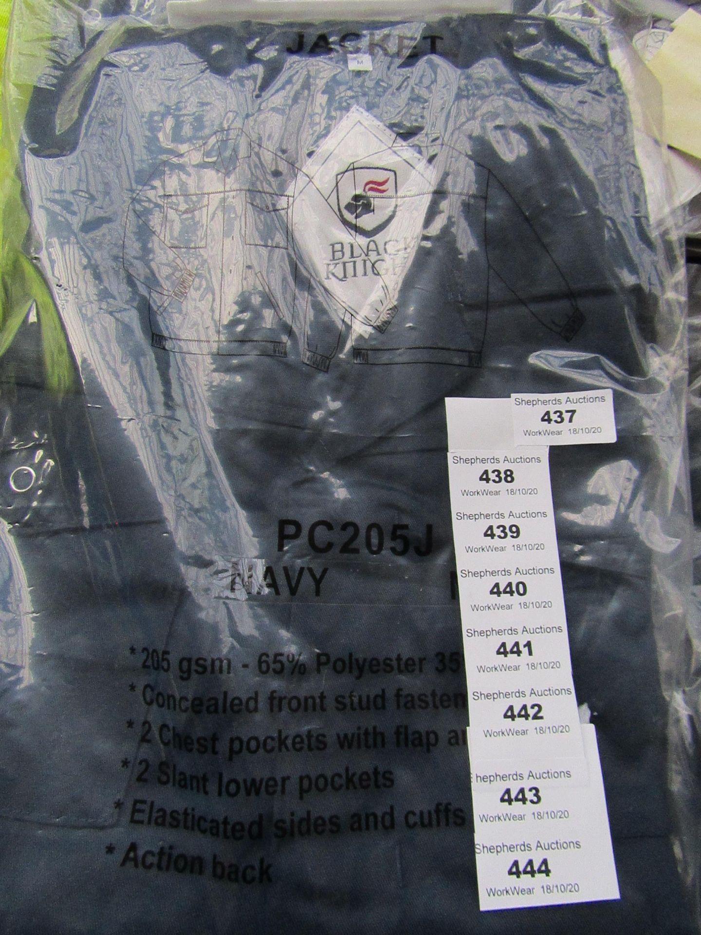 Lot 439 - Black Knight - Navy Jacket - Size Medium - Unused & Packaged.
