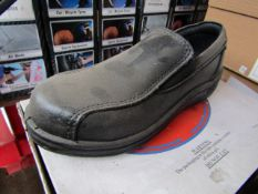 ABS Steel toe cap slip on shoes - Size 3 - New & Boxed.