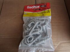 16x Fischer - Single Cable Clamp ES 18 - (Packs of 25) - New & Packaged.