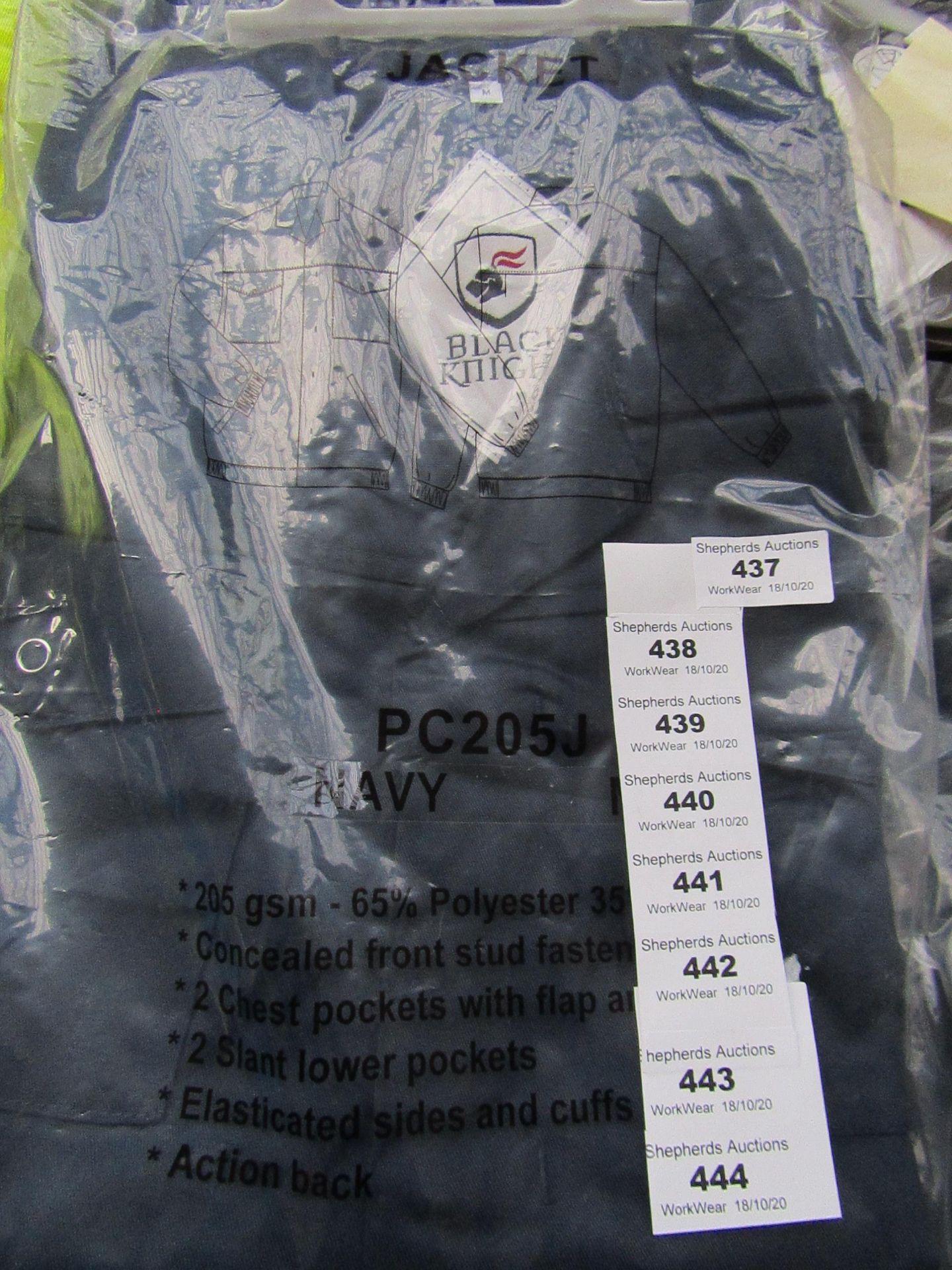 Lot 438 - Black Knight - Navy Jacket - Size Medium - Unused & Packaged.