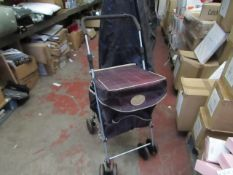 The Geniune Sholley Shopping Trolley. This has been used & is slightly faded on the top but still