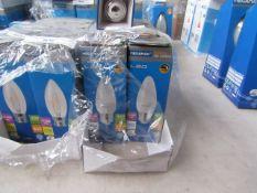 9x Megaman LED R80 bulb, new and boxed. 15,000Hrs / E27 / 520 Lumens
