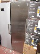 Whirlpool tall freestanding freezer, tested working for coldness but heavily used inside.