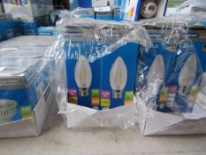 8x Megaman LED Flament bulb, new and boxed. 15,000Hrs / B22 / 250 Lumens