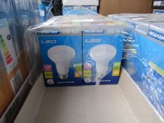 1x Megaman LED R63 bulb, new and boxed. 15,000Hrs / E27 / 650 Lumens