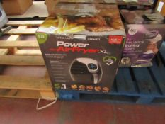 | 2X | POWER AIR FRYER 5L | UNCHECKED AND BOXED | NO ONLINE RE-SALE | SKU C5060191466936| RRP £99.99