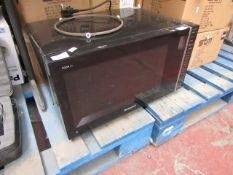 Hotpoint - Cook 30 Microwave Oven - Untested & Missing Glass Plate.