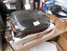 | 1X | GOTHAM STEEL NON STICK LOW FAT GRILL | TESTED WORKING AND BOXED | NO ONLINE RESALE |