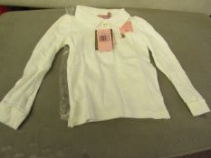 Juicy Couture Girls long sleeve polo shirt, new size 3 years