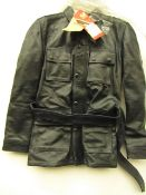 Ladies Belstaff Tiger leather Jacket, new with tag size 44