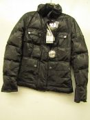 Ladies Belstaff Harrier Down Jacket, new with tag size 42.