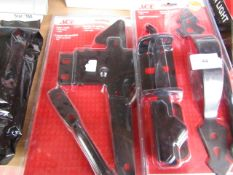1x ACE - Black Gate Latch (3.81 - 7.62 cm) - New & Packaged. 1x ACE - Black Post Mount Gate