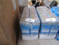 10x Megaman LED dimable candle lamp, new and boxed. 25,000Hrs / E27 / 250 Lumens