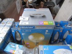 Megaman - Mellotone LED Filament Lamp, New and Boxed. 15,000Hrs / B22 / 210 Lumens