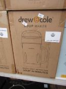 | 1X | DREW AND COLE SOUP CHEF | BOXED AND REFURBISHED | NO ONLINE RESALE | SKU C5060541516809 | RRP