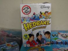 Disney Hedbanz Headrush Family Game. New & Boxed