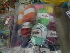 20 x Balls of Yarn. Unused & Packaged