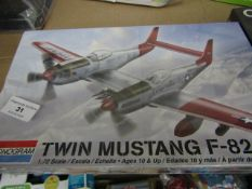 Monogram Twin Mustang F-82G. New & in A Sealed Box