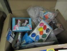 Box of Approx 20 Various Toys/Accessories.