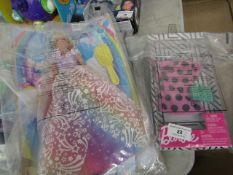 2 Items Being a Barbie Dreamtopia Doll & a Barbie Outfit. Both Packaged
