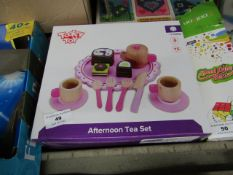 Tooky Toy Afternoon Tea Set. Boxed