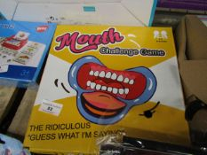 Mouth hallenge Game. The Rediculous Guess What im Saying game. New & Boxed