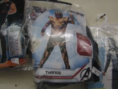 Avengers Thanos Suit. 12 - 14Years. Packaged but unchecked