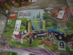 Lego Friends 41371 Set. Packaging is Slightly damaged so has been rebagged
