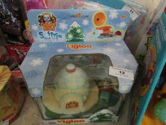 Igloo Figure Set. New & Packaged. Instructions are Not English