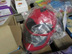 Power Rangers Sound FX Mask. Packaging is damaged so has been rebagged
