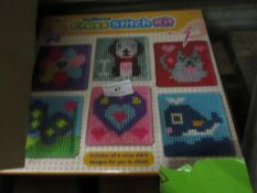 Traditional 6 in 1 Cross Stitch Kit. Unused & Boxed