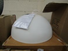 | 1x | COX AND COX CREAM CEILING PENDANT LIGHT | DOESN'T APPEAR TO BE ANY MAJOR DAMAGE, WITH BOX |