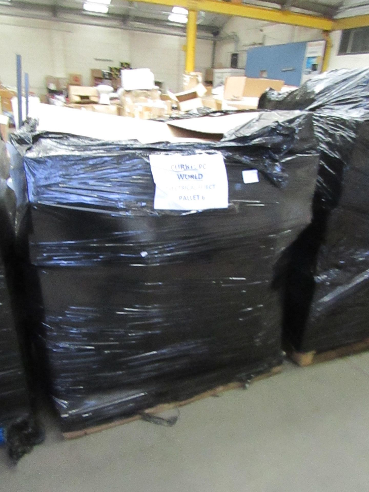   1X   PALLET OF UNMANIFESTED ELECTRICAL ITEMS, ALL RAW CUSTOMER RETURNS SOME MAY BE LOOSE OR IN NON