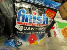 Finish - Powerball Quantum Ultimate Dishwasher Tablets (70 Pack) - Unused & Sealed.