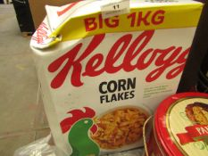 Kellogg - Corn Flakes (1Kg) - BB - 21/06/21 - Box Damaged.