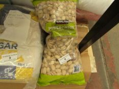 Kirkland - Pistachios (Roasted & Salted) - 1.36kg - BB - 29/06/21 - Packaged.