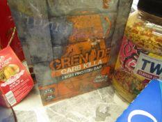 Grenade - Carb Killa High Protein Bar (Jaffa Quake) BB - 01/21 - Sealed & Boxed.