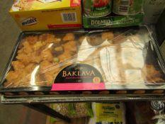 Layla - Baklava Mediterranean Dessert - BB 24/12/20 - Sealed & Packaged.