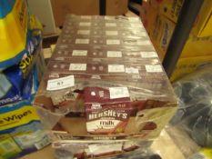 19x Hershey's - Chocolate Milk 236ml - Missing 2 - Unused & Boxed.