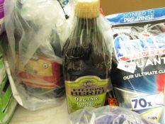 2x Filippo Berio - Organic Extra Virgin Olive Oil 1.5 Litre - Lids Slighted Damaged Has Been