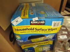 Kirkland - Household Surface Wipes (Approx 304 Wipes) Lemon Scented - Unused & Boxed.