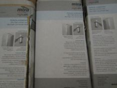 Mira bifold enc 1200mm, new and boxed.