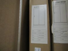 Wetroom 1200 x 1850mm deflector, new and boxed. SD011