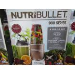 | 8X | NUTRI BULLET 900 SERIES | UNCHECKED AND BOXED | NO ONLINE RE SALE | SKU C5060191467353 |