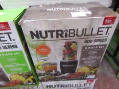 | 12x | NUTRI BULLET 600 SERIES | UNCHECKED AND BOXED | NO ONLINE RE-SALE | SKU C5060191462198 | RRP