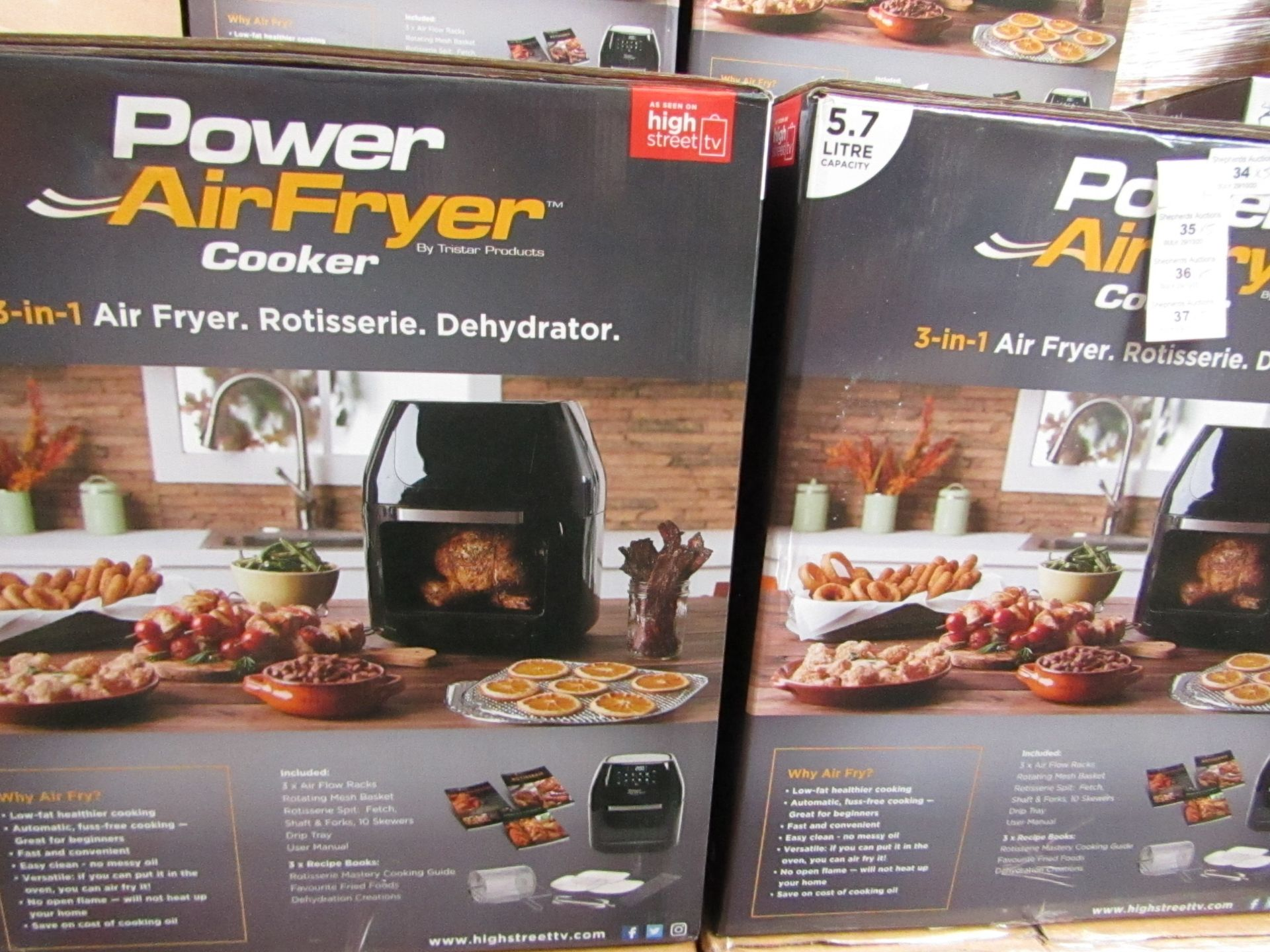   4X   PRESSURE KING PRO 12 IN 1 5LTR PRESSURE COOKER   UNCHECKED AND BOXED SOME MAY BE IN NON