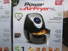 | 6x | POWER AIR FRYER 3.2L | UNCHECKED AND BOXED | NO ONLINE RE-SALE | SKU 5060191468053| RRP £79.